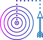 arrow and circles diagram