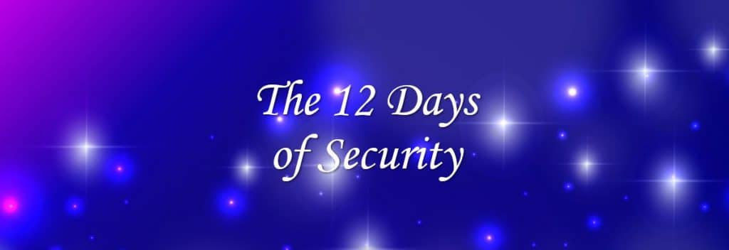 12 days of security happy holidays blog