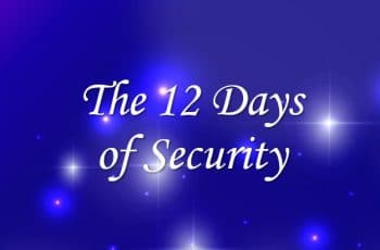 The 12 Days of Security